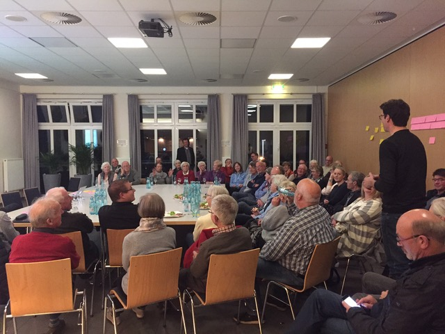 Vom Eigenheim ins Altenheim?  Ideen-Abend zu Wohnwünschen in Biemenhorst