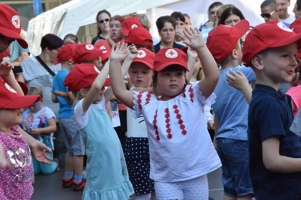 Großes Programm für Jung und Alt: Rotes Kreuz beim