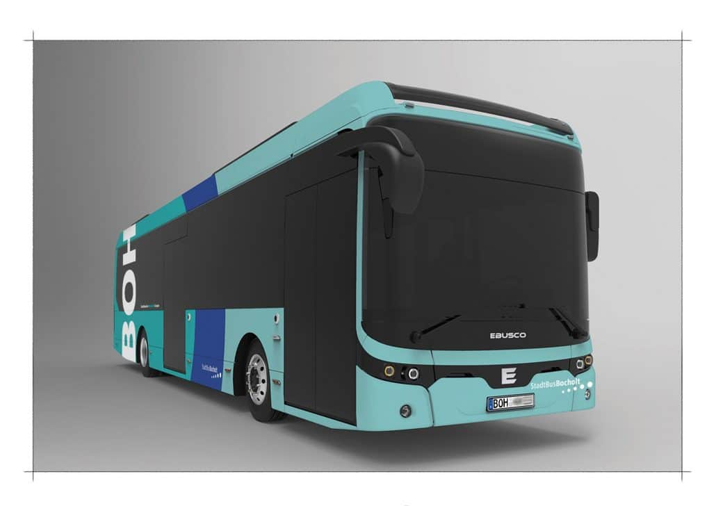 Ab Oktober erster vollelektrisch angetriebener Bus in Bocholt
